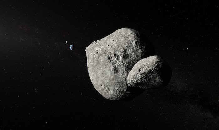 Earth flyby gives astronomers close-up look at binary asteroid