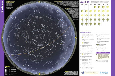 Interactive Star Map Northern Hemisphere.How To Use A Star Chart Astronomy Com
