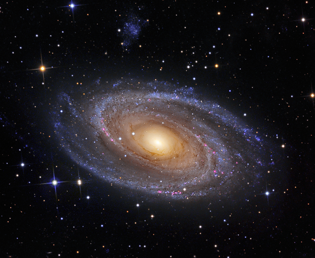 Barnards Galaxy Or M81 In Ursa Major Astronomy Com