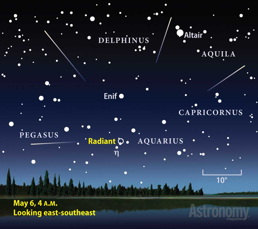 May Meteor Shower Set To Light Up The Night Sky