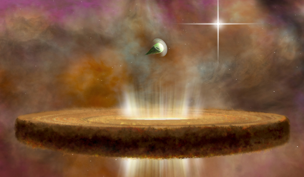 """""""Death stars"""" in Orion blast planets before they even form"""