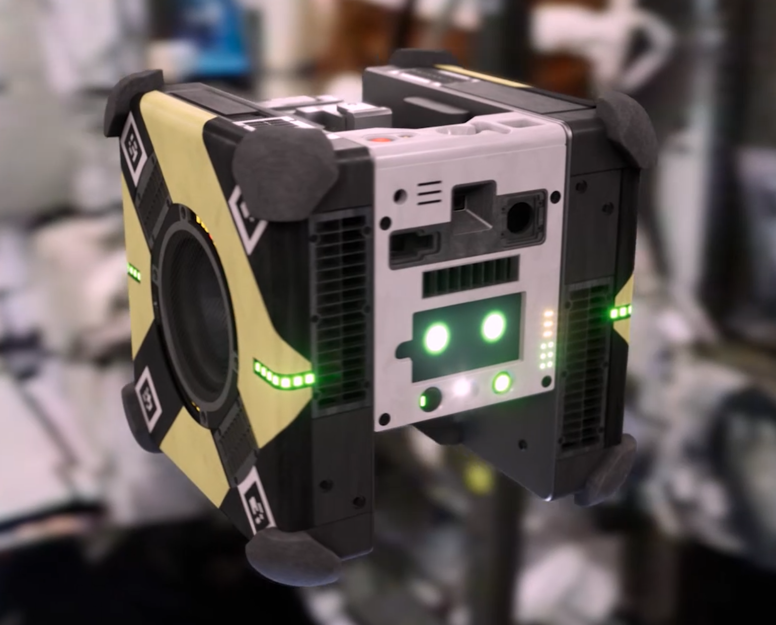 Robot Astrobees Honey and Bumble report for duty on the ISS