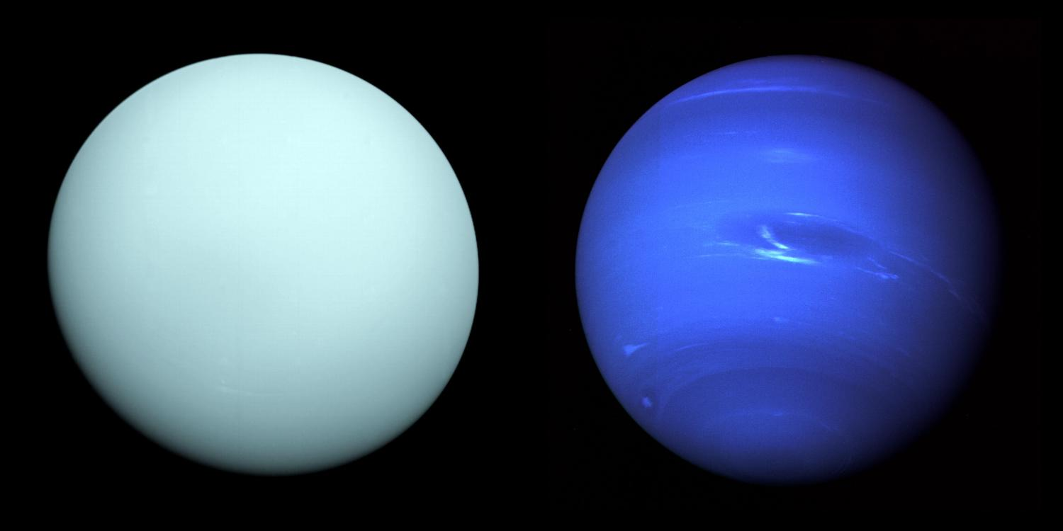 Uranus and Neptune: Cloudy with a chance of diamonds
