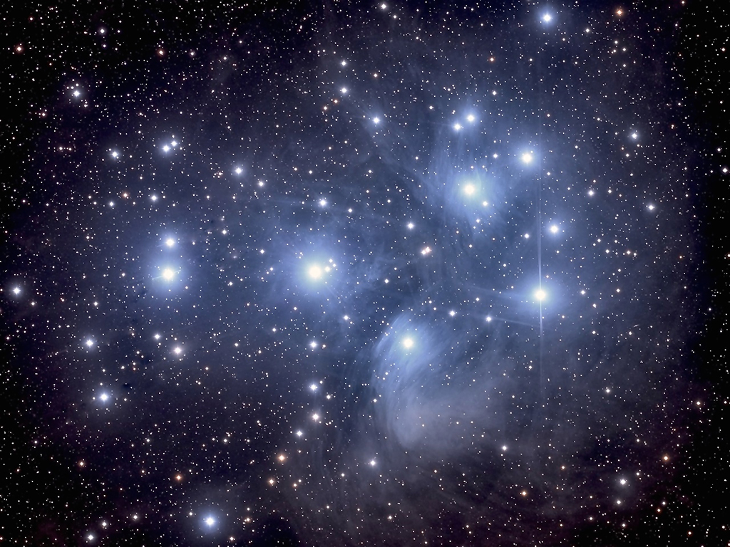 The Pleiades star cluster in Taurus | Astronomy.com