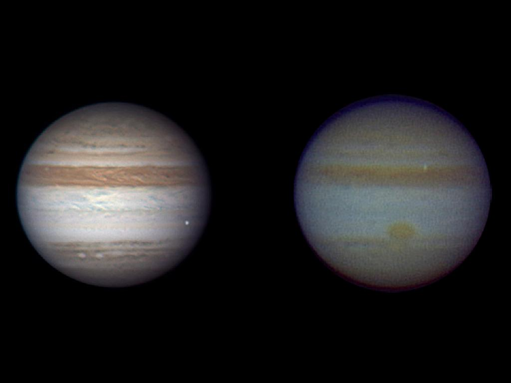 Final, amateur telescope jupiter can