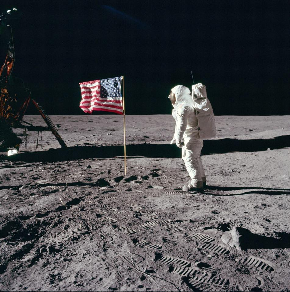 Apollo 11: The first Moon landing's most iconic pictures