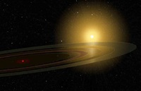 Saturn-like ring system