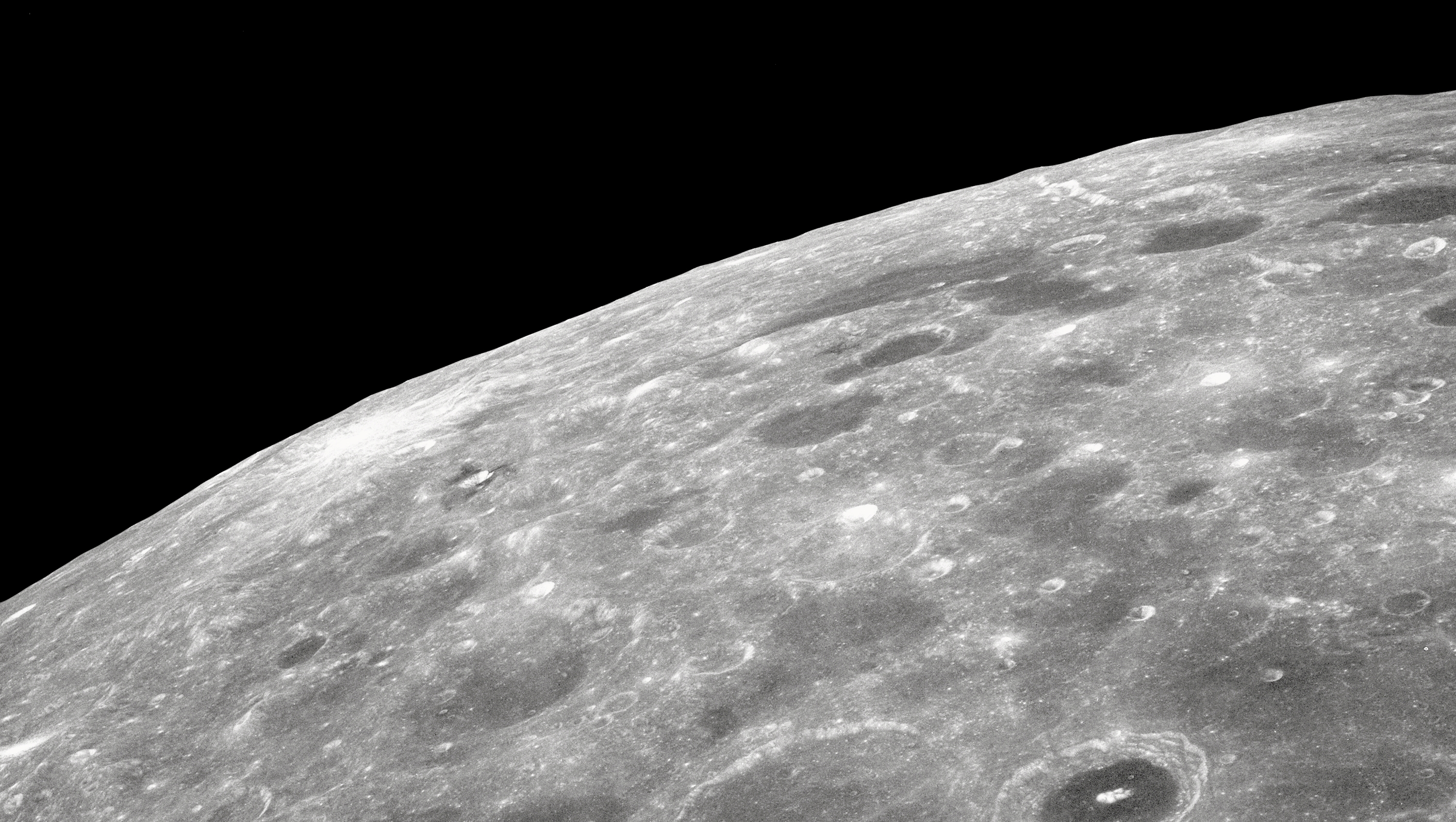 Astronomers managed to look under the surface of the moon