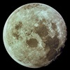 Moon imaged by Apollo 11