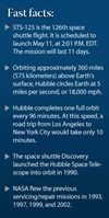 Hubble repair mission facts