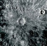 Copernicus Crater of the Moon