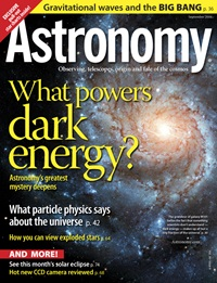 September 2006 Astronomy magazine
