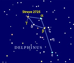 Constellation Delphinus