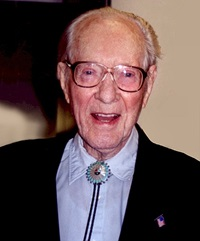 Fred Whipple at 95