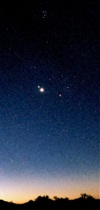 Venus and Saturn appear together July 1