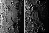 Mercury ridge crater