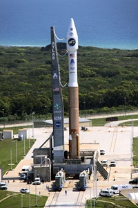 Lunar Reconnaissance Orbiter (LRO) on the launch pad