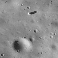 Boulder on Phobos