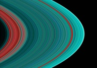 Saturn's rings in UV