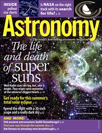 Astronomy July 2008 issue