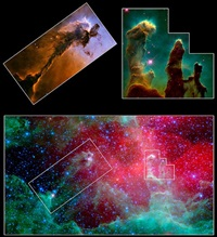 Eagle Nebula M16 pillars