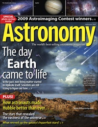 Astronomy magazine September 2009